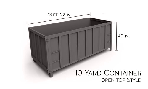 10-yard-container